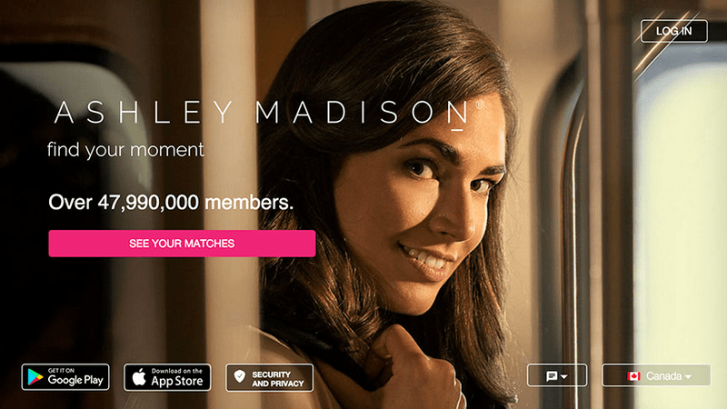 Bisexual Dating App - AshleyMadison